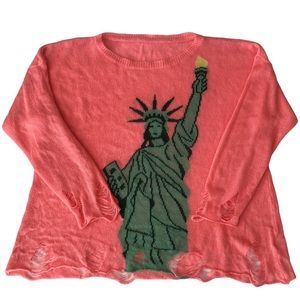 Wildfox Lady Liberty Lennon Sweater